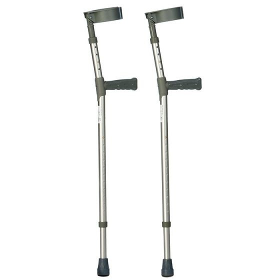 Double Adjustable Crutches Extra Long