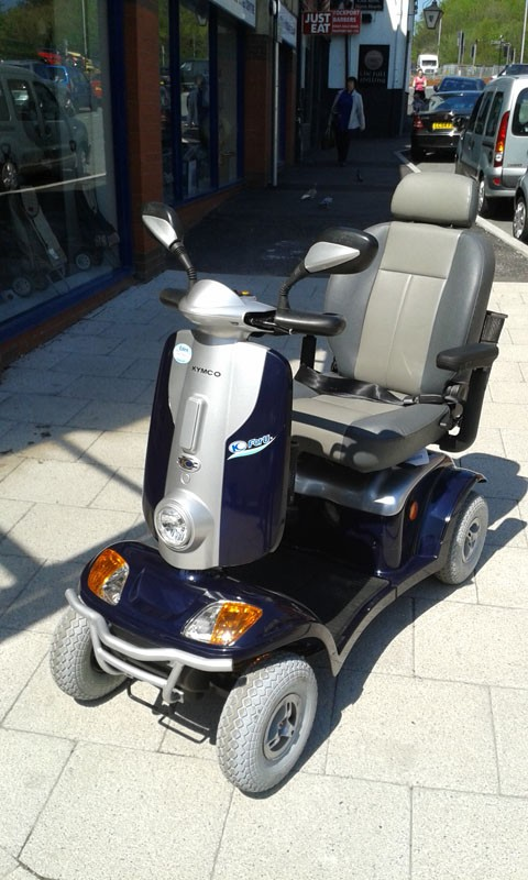 Kymco Maxi Xl Foru Blue