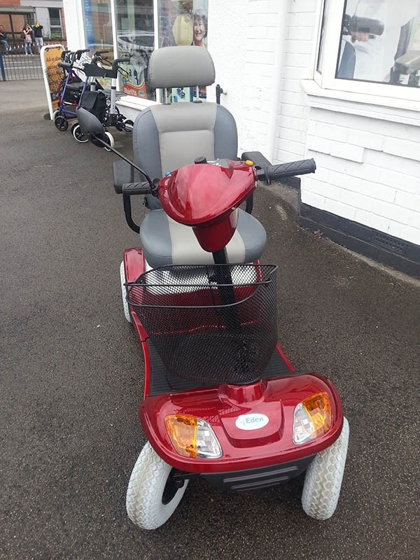 Kymco Super 8 For U Red