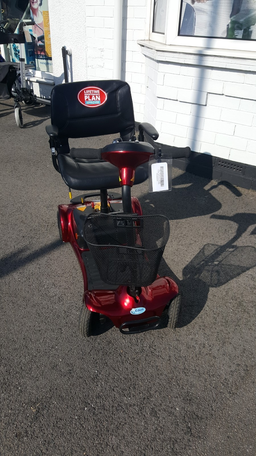 Merlin Scooter Red
