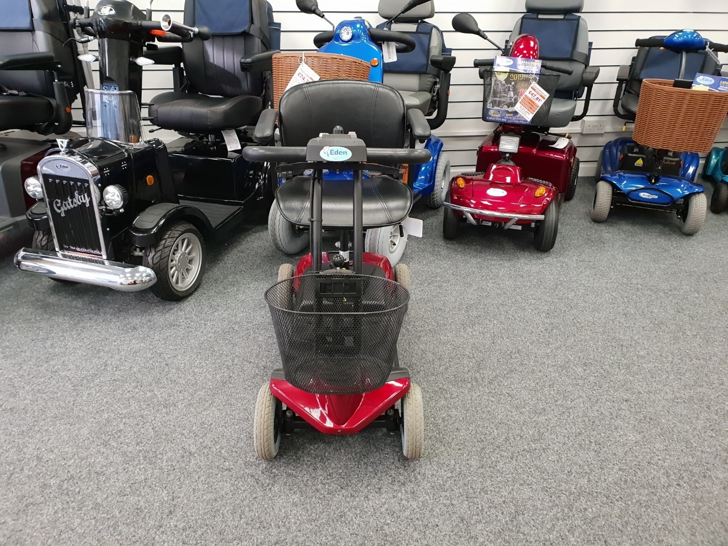 Drive Bootmaster St1 Red