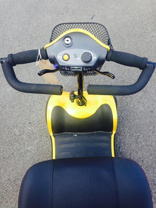 Kymco Yellow