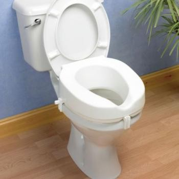 Taunton Raised Toilet Seat