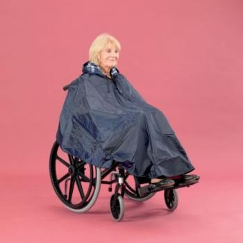 Deluxe Wheelchair Poncho