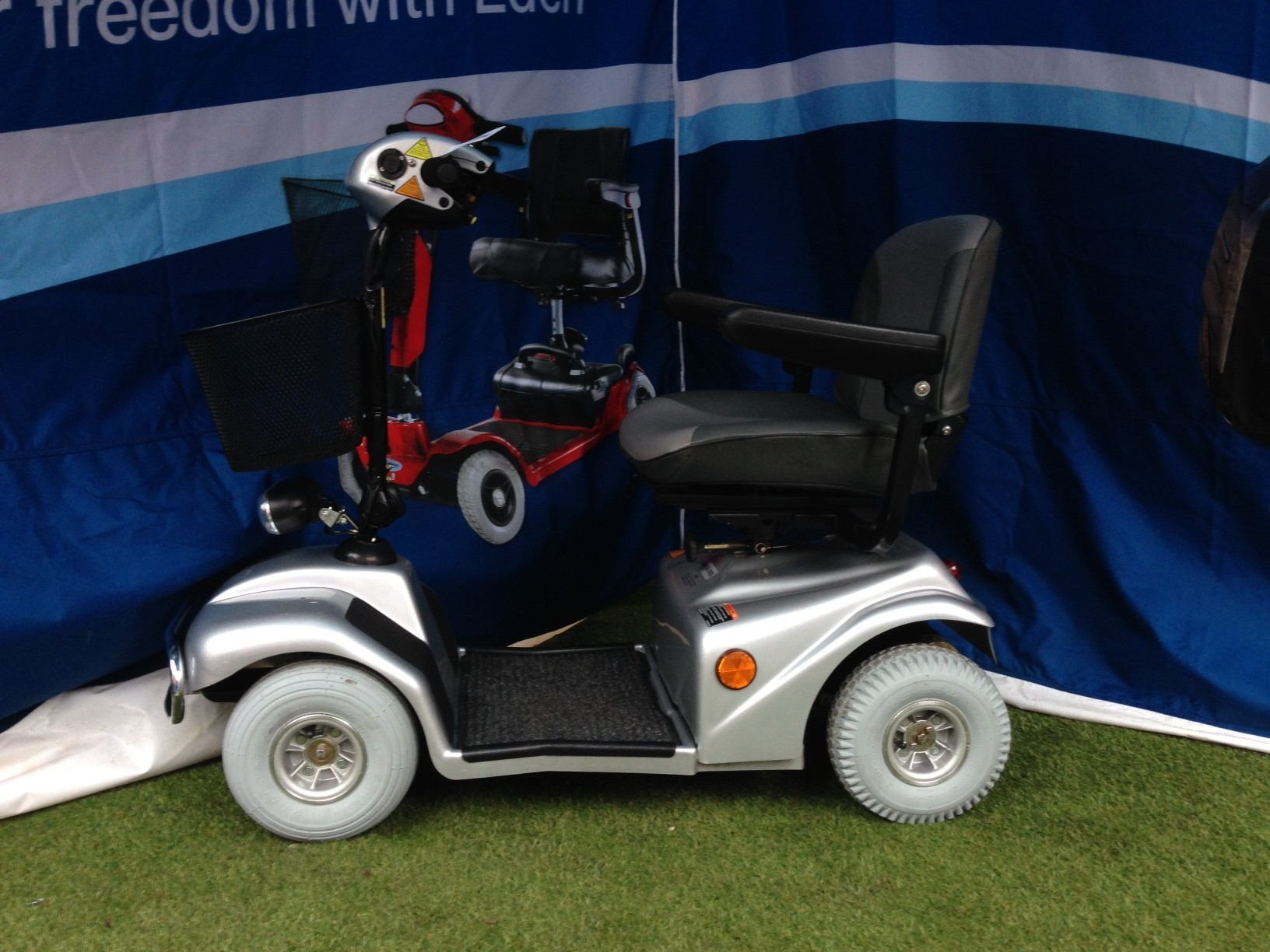 Electric Mobility Rascal Silver