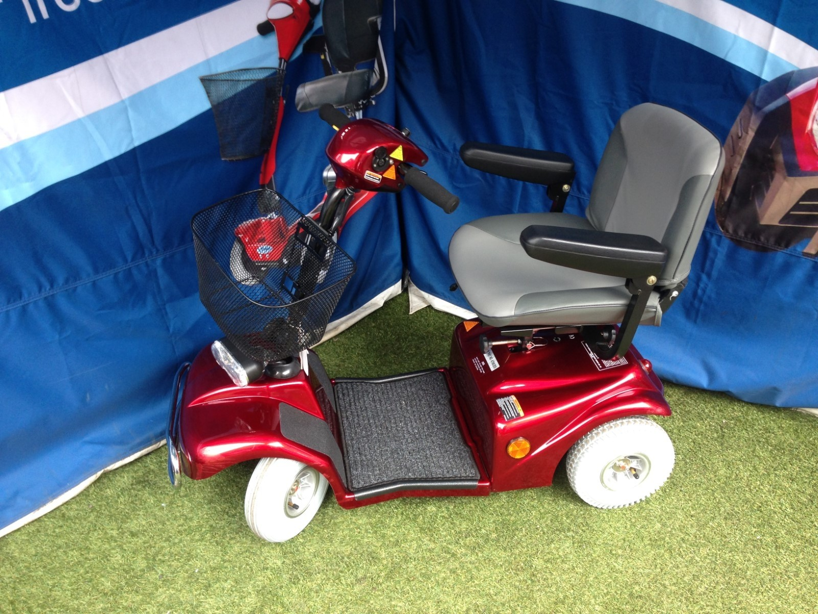 Millercare Path Scooter Red