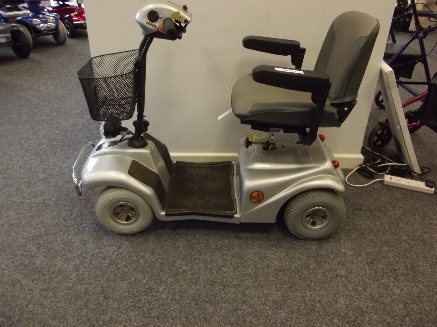 Rascal Scooter Silver