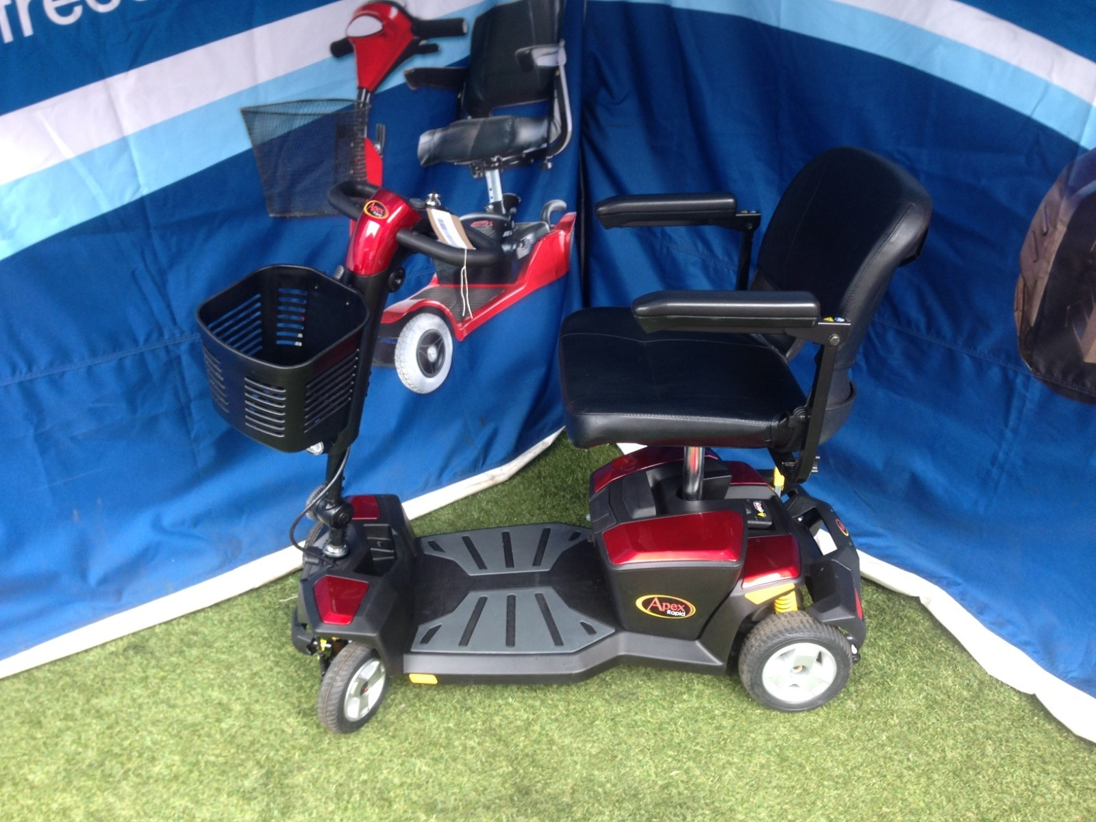 Pride Apex Scooter Red