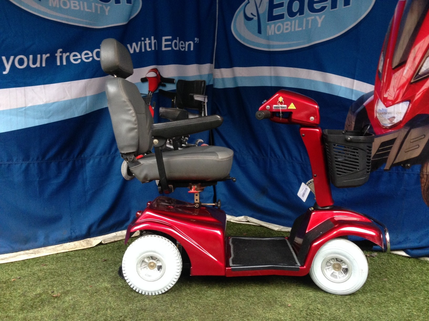 Electric Mobility Rascal Red