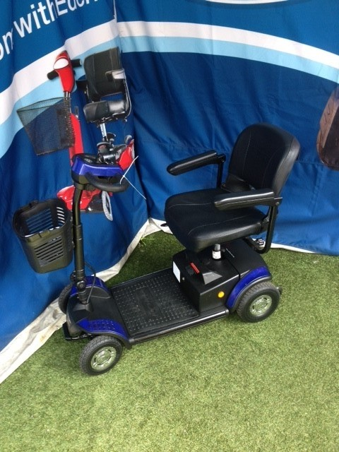 Roma Medical Scooter Blue