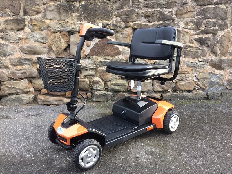 Tempo Orange Scooter