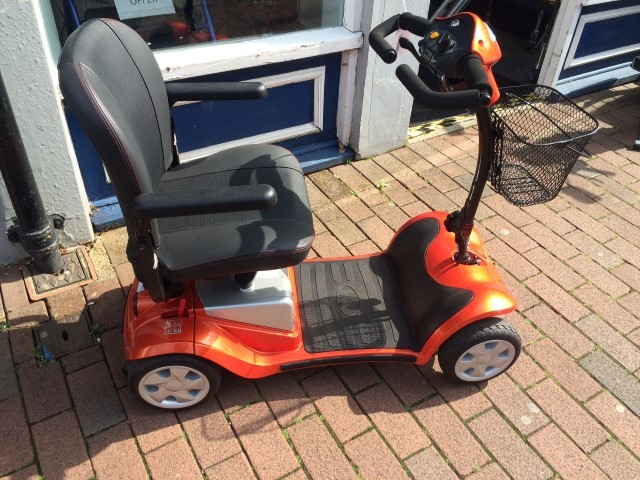 Kymco Mini LS Orange