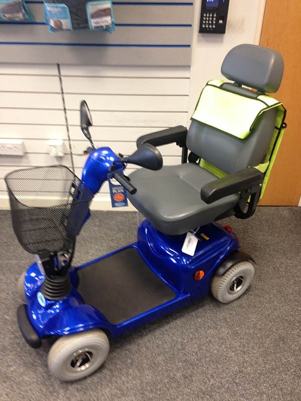 Kymco Midi 4 Blue Pre Owned Mobility Scooter Finance