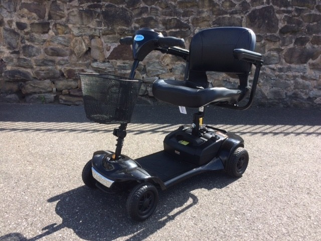 Roma Medical Scooter Black