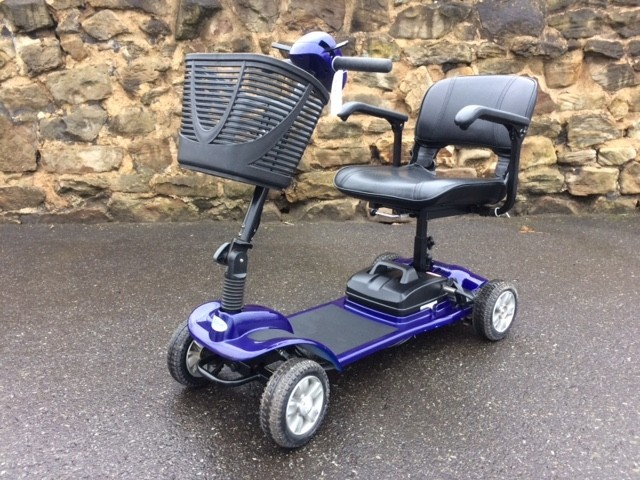 Kr Scooter Blue