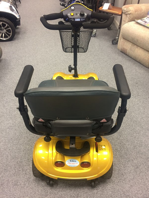Kymco Boot Scooter Yellow