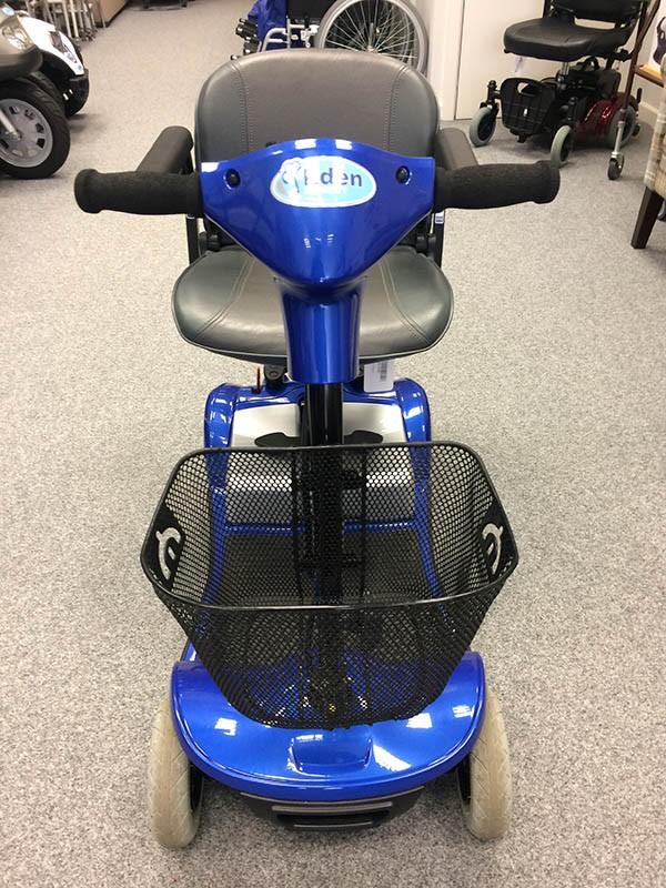 Kymco Micro 4 Blue