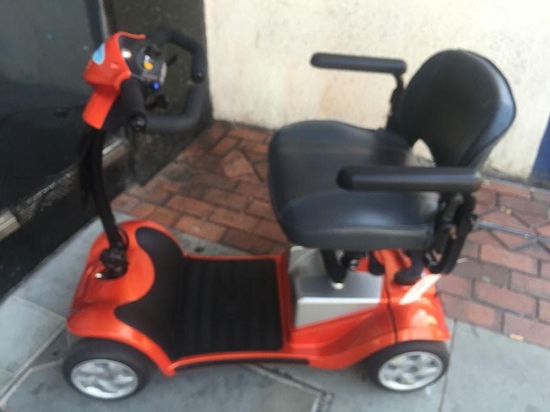 Kymco Mini LS Orange 4wheel