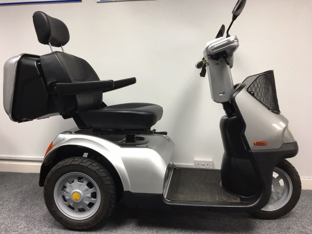 Tga Breeze S3 Silver Pre Owned Mobility Scooter