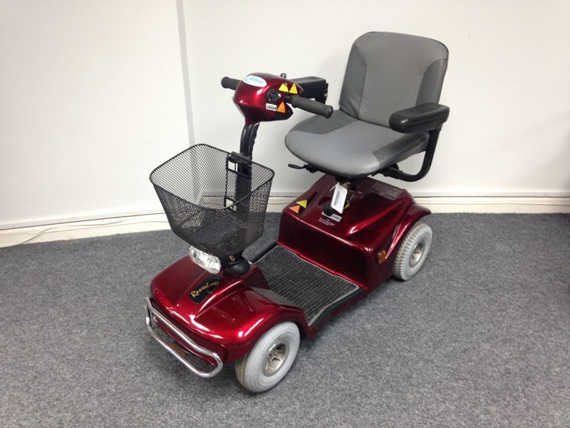Red Elec Mobility Scooter
