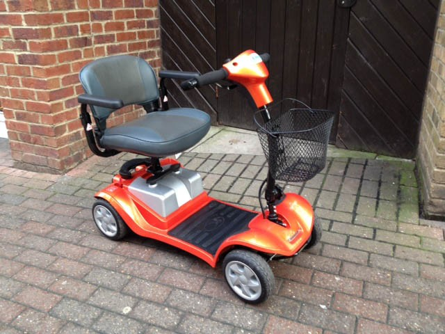Bootmaster Elite Orange Pre Owned Mobility Scooter