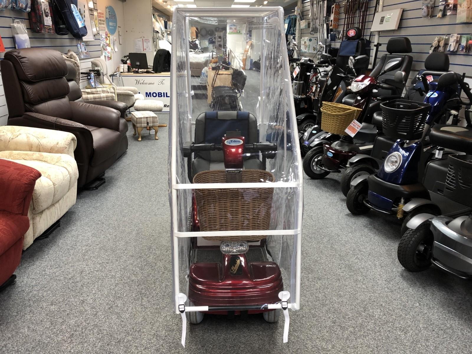 Shoprider Sov 4 With New Canopy
