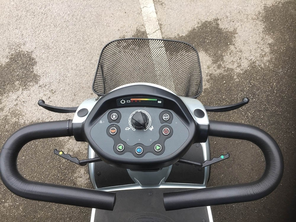 Scooter Silver