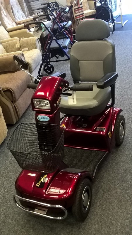 Electric Mobility Rascal Red 6mph