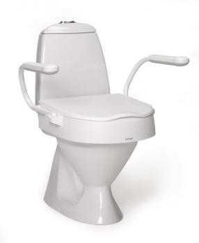 Adjustable Raised Toilet Seat