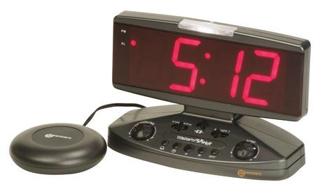 Wake n Shake Vibrating Alarm Clock