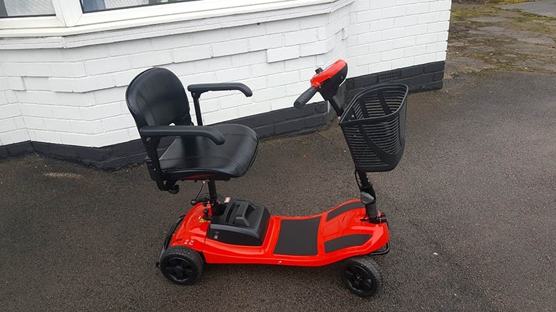 Komfi Rider Liberty Red Pre Owned Mobility Scooter