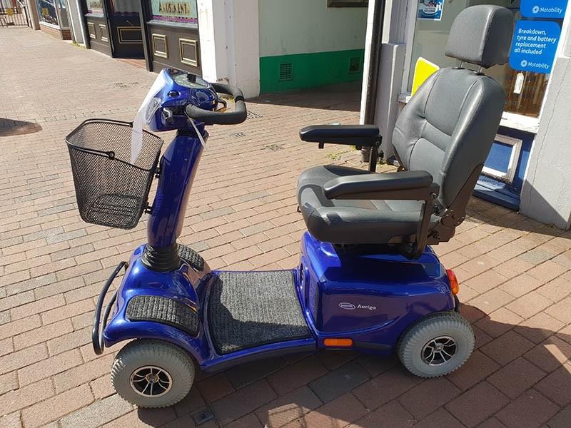Invacare Auriga Scooter Blue