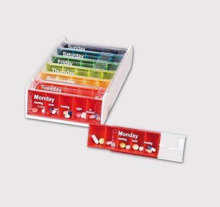 Anabox Weekly Pill Box