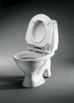 Fixed Raised Toilet Seat