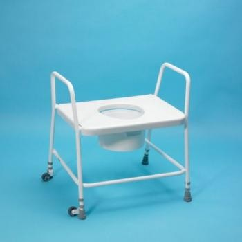 Extra Wide Toilet Frame