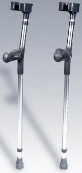 Aluminium Forearm Crutch