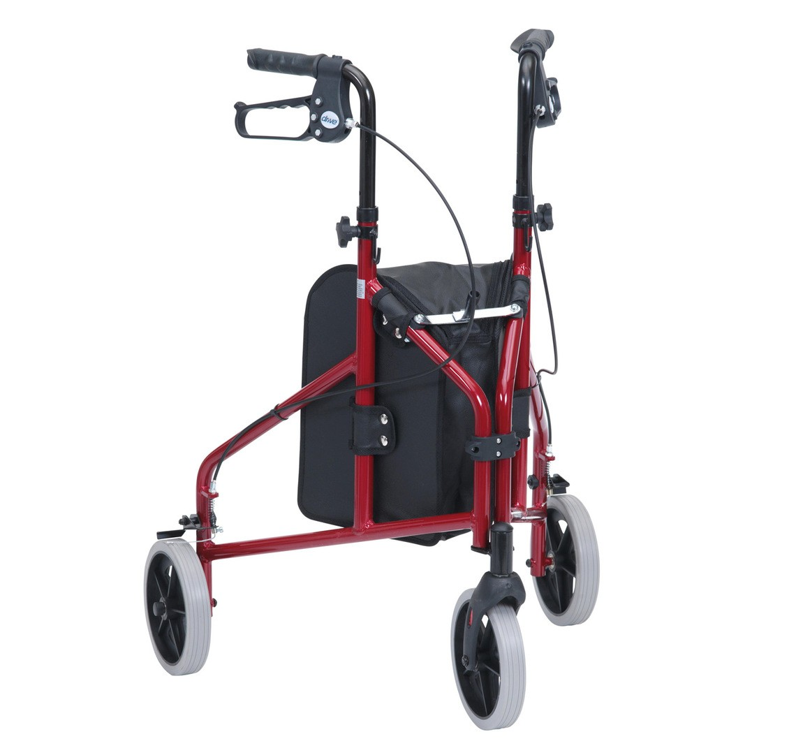 Aluminium tri walker eden mobility for Mobility walker