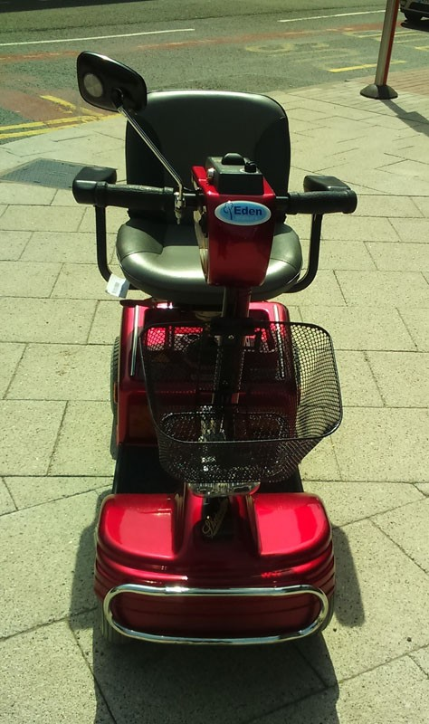 Shoprider Sov 4 Red