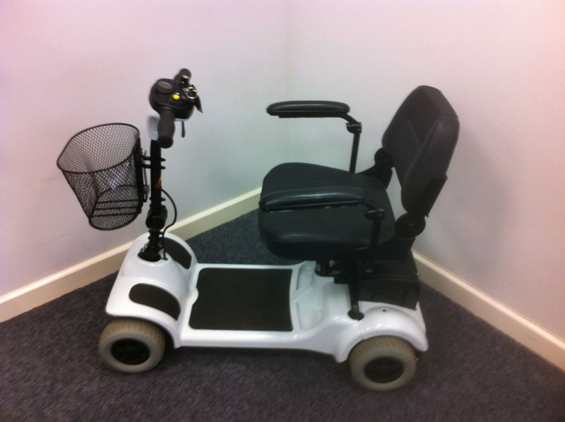 Electric Mobility Eco 4 White