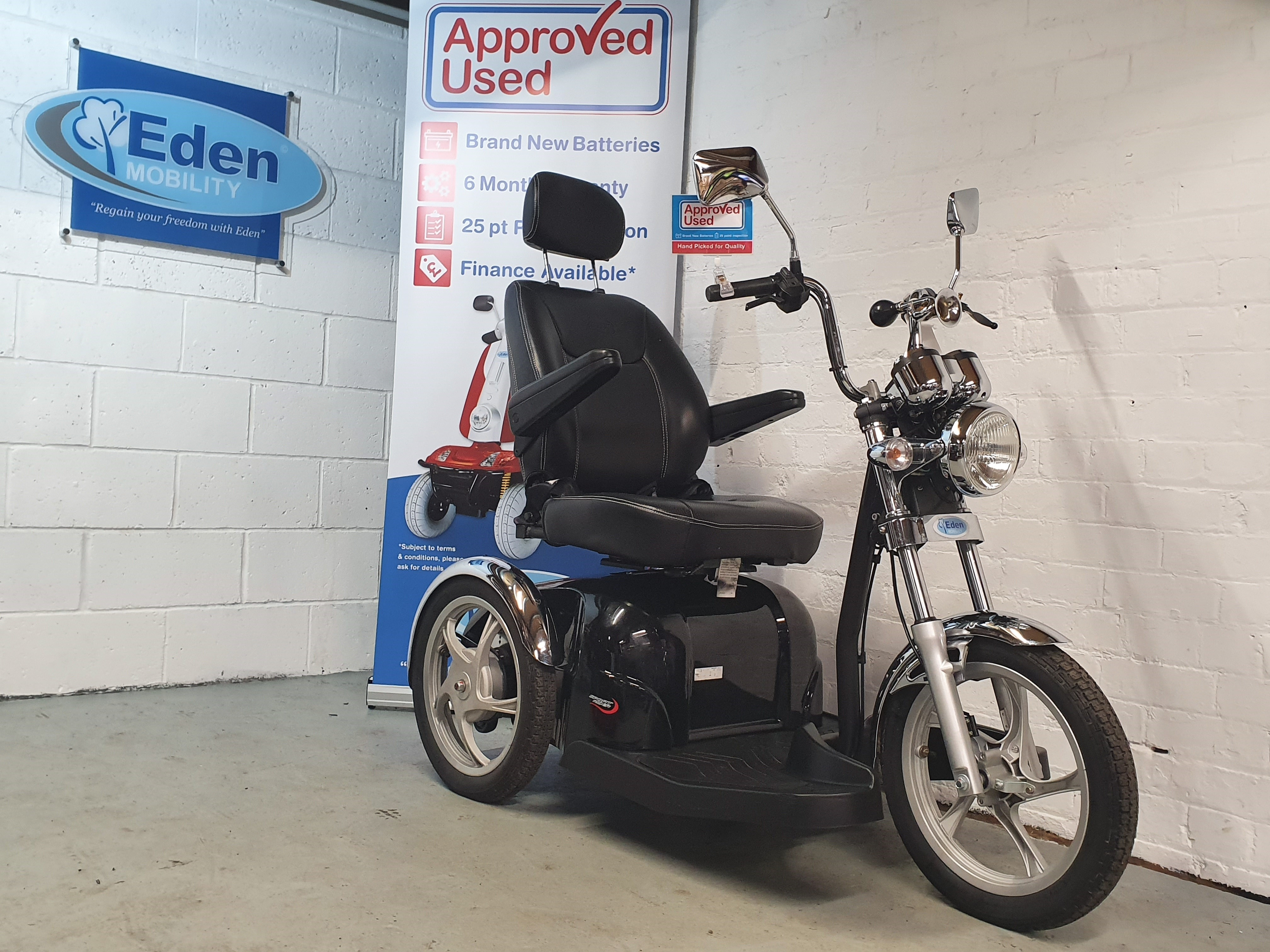 Drive Sport Rider Black 3whl