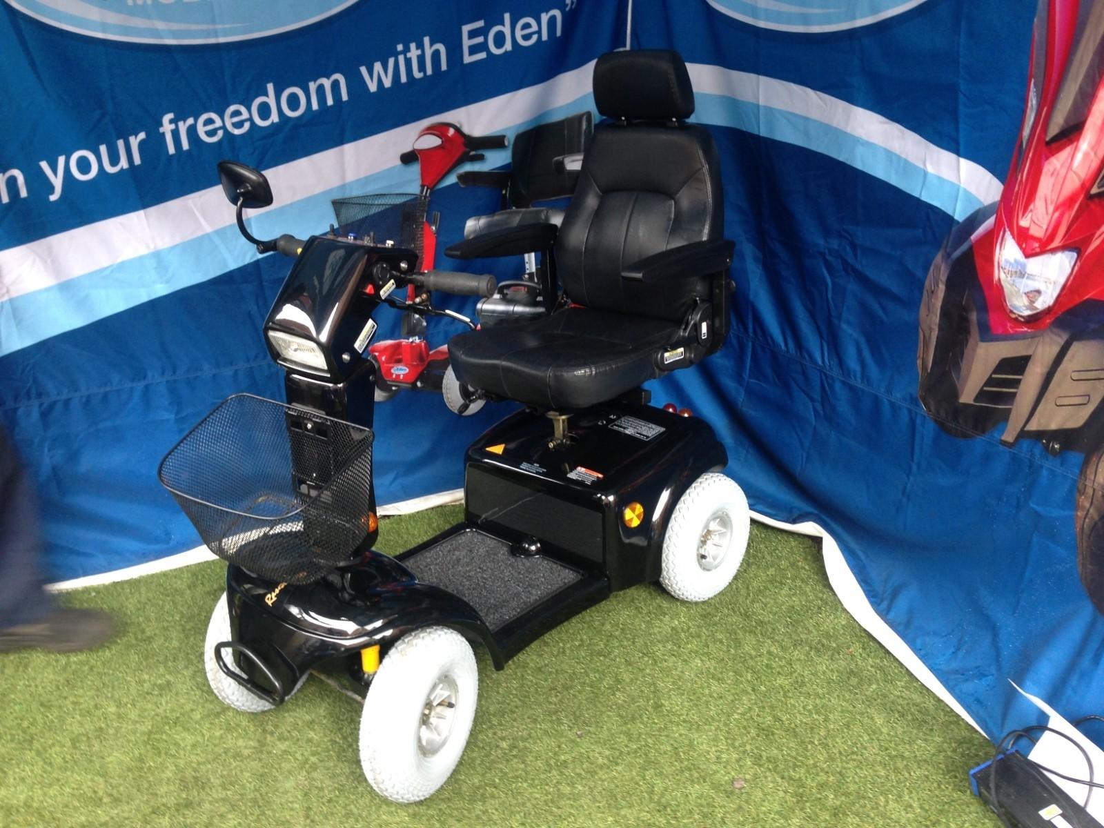 Electric Mobility Rascal Scooter Black