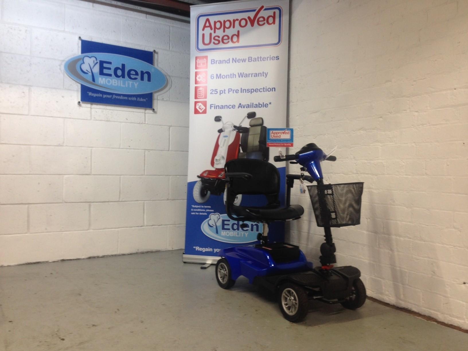 Eden Eco Boot Blue