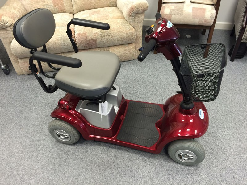 Kymco Boot Scooter Red