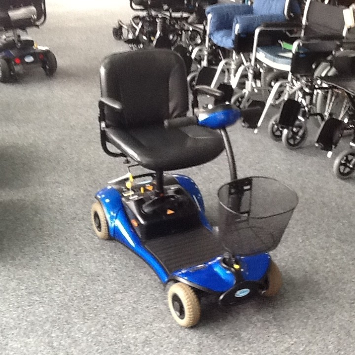 Shoprider Blue Pre Owned Mobility Scooter Finance