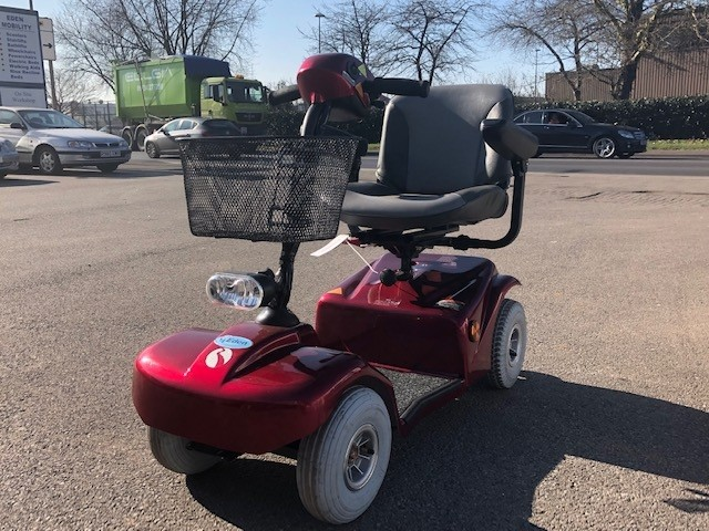 Rascal Scooter Red