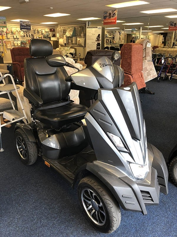 King Cobra Grey | Pre-Owned Mobility Scooter | Finance Available!