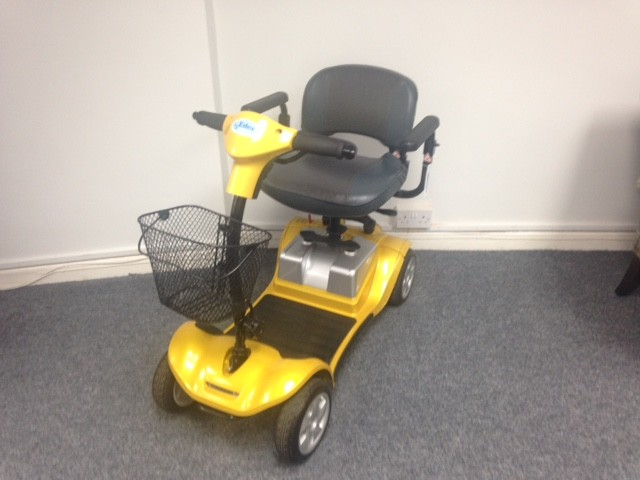 Kymco Mini LS Yellow