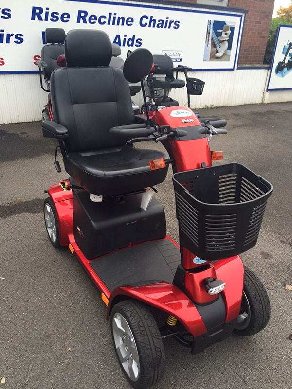 Pride Colt Pursuit Red Pre Owned Mobility Scooter