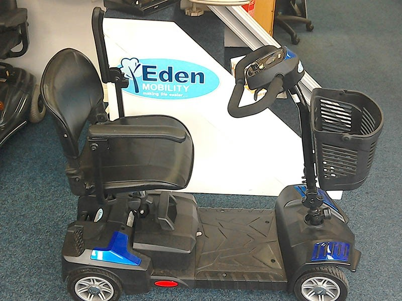 Scout Bootmaster Blue Pre Owned Mobility Scooter