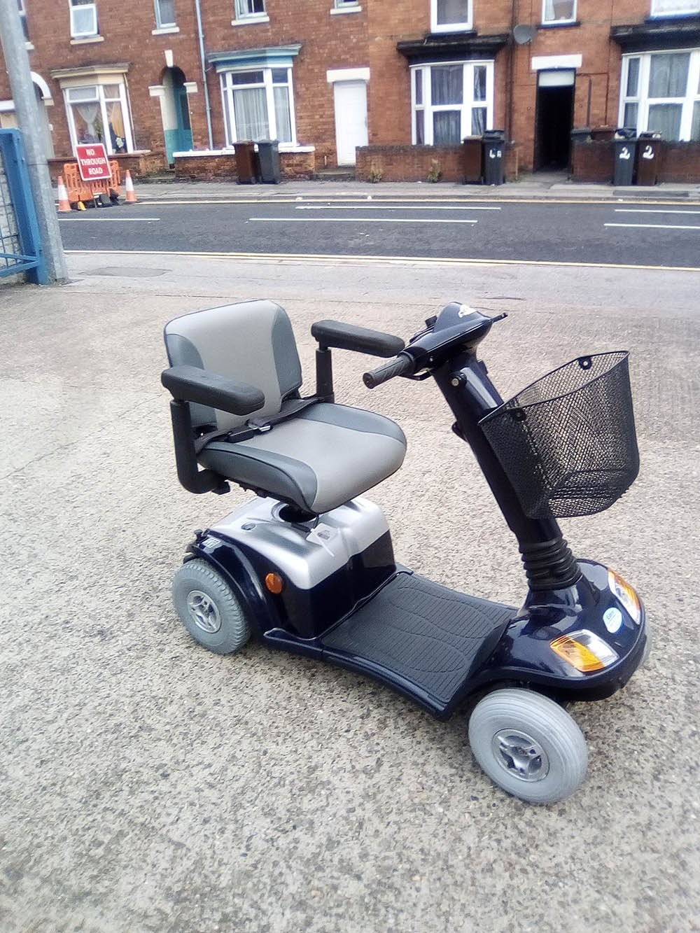 Days Strider Blue Pre Owned Mobility Scooter Finance